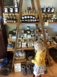 Lots of local Gippsland produce and hand crafted products at The Meeniyan Store